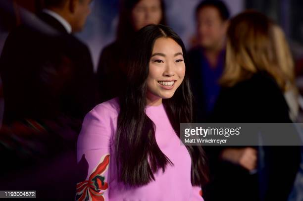 Awkwafina attends the premiere of Sony Pictures' Jumanji The Next Level at TCL Chinese Theatre on December 09 2019 in Hollywood California