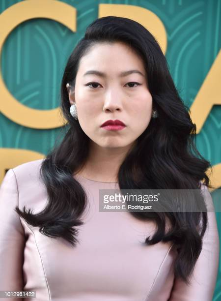 Awkwafina attends the premiere of Warner Bros Pictures' Crazy Rich Asiaans at TCL Chinese Theatre IMAX on August 7 2018 in Hollywood California