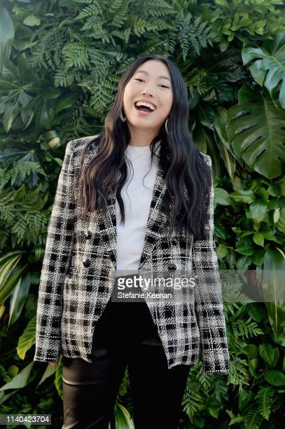 Awkwafina attends Veronica Beard Pacific Palisades Store Opening Party on April 30 2019 in Pacific Palisades California