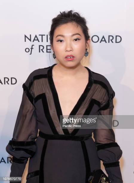 Awkwafina Nora Lum attends National Board of Review 2019 Gala at Cipriani 42nd street.