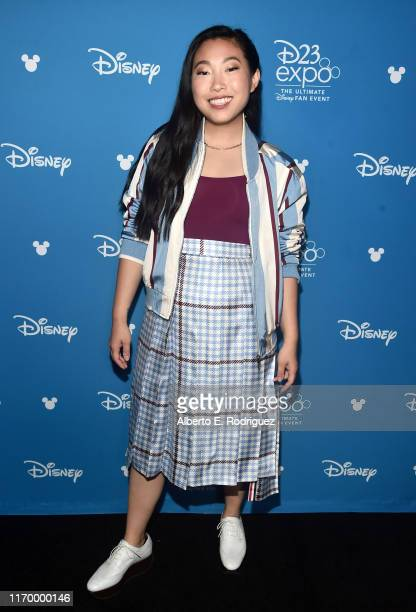 Awkwafina of 'Raya and the Last Dragon' took part today in the Walt Disney Studios presentation at Disney's D23 EXPO 2019 in Anaheim Calif 'Raya and...
