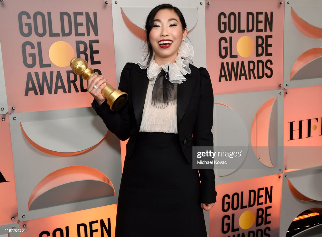 Moët And Chandon At The 77th Annual Golden Globe Awards - Backstage : News Photo