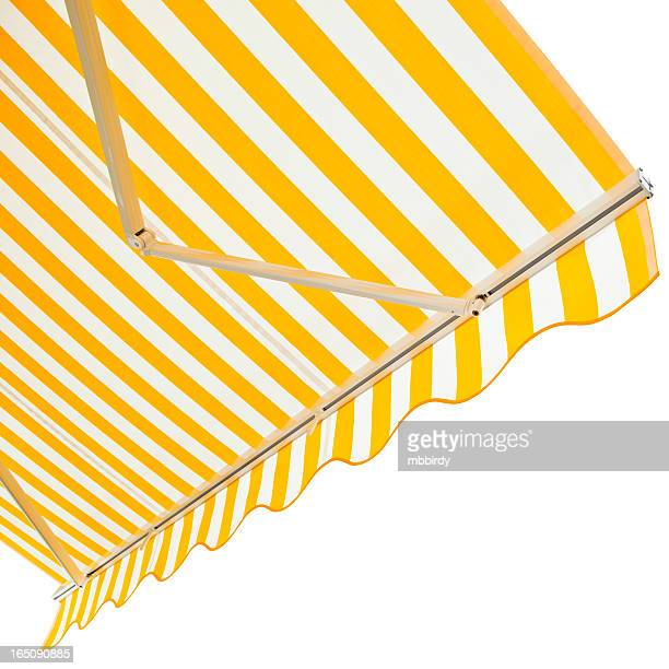 Awning, isolated on white