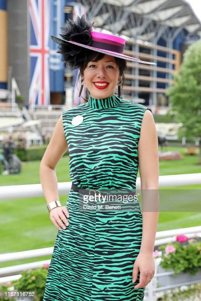 Awon Golding on day 3 of Royal Ascot at Ascot Racecourse on June 20, 2019 in Ascot, England.