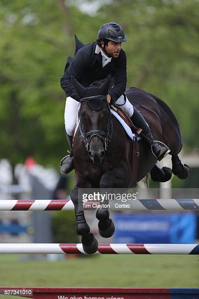Axel Barrios riding VDL Aberlino in action during the $100000 Empire State Grand Prix presented by the Kincade Group during the Old Salem Farm Spring...