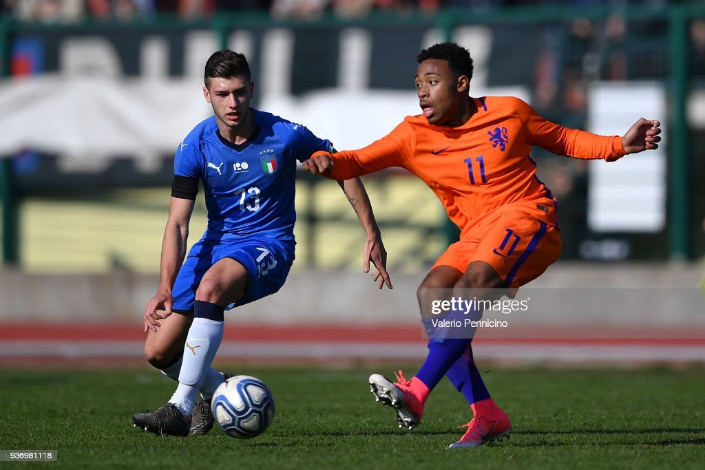 Italy U18 v Netherlands U18 - International Friendly