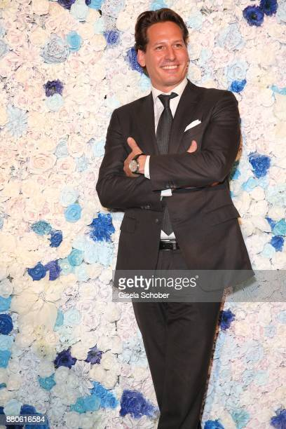 Axel Ludwig Director Hotel Vier Jahreszeiten during the DressHeaven 2017 Christmas party by 'dresscoded' at Armani Caffe on November 27 2017 in...