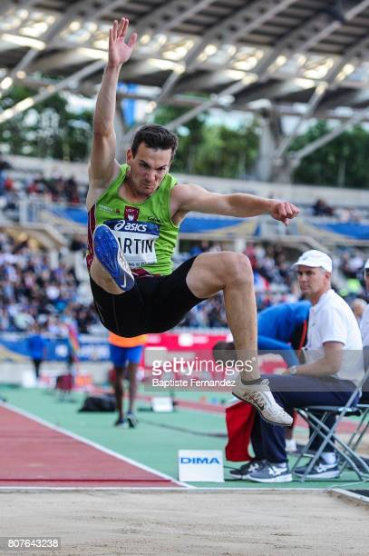Axel Martin during the Meeting de Paris of the IAAF Diamond League 2017 at Stade Charlety on July 1 2017 in Paris France