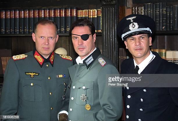 Axel Milberg Sebastian Koch Christopher Buchholz ARD/SWRFilm Stauffenberg Köln Schauspieler Uniform Nationalsozialist Nazi Militär Augenklappe...
