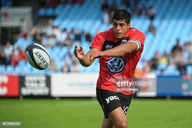 Axel Muller Aranda of Toulon during the Top 14 rugby match between Racing 92 and RC Toulon on September 18 2016 in Colombes France