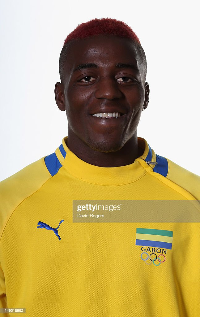 Gabon Men's Official Olympic Football Team Portraits : News Photo