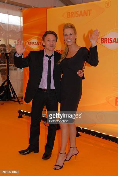Axel Pape Anja Nejarri MDR 'Brisant Brillant 2007' Verleihung München Bayern Deutschland Europa Preis Auszeichnung roter Teppich Schauspieler Promi...