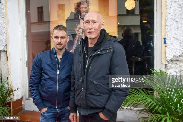 Axel Schreiber and Detlef Bothe attend the film preview of 'Der Sportpenner' on June 13 2018 in Berlin Germany