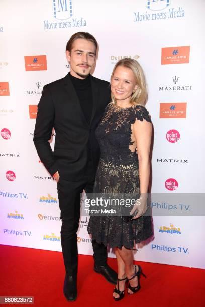 Axel Schreiber and Nova Meierhenrich attend the Movie Meets Media event 2017 at Hotel Atlantic Kempinski on November 27 2017 in Hamburg Germany