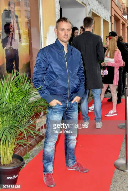 Axel Schreiber attends the film preview of 'Der Sportpenner' on June 13 2018 in Berlin Germany
