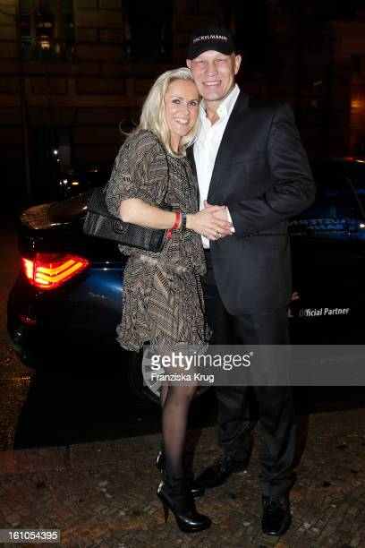 Axel Schulz and Patricia Schulz attend the 'Festival Night by Bunte and BMW' at the 63rd Berlinale International Film Festival at the Humboldt Carre...