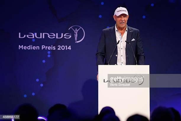 Axel Schulz attends the Laureus Media Award 2014 at Grand Hyatt Hotel on November 12 2014 in Berlin Germany