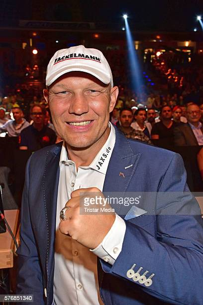 Axel Schulz attends the WBA Super Middleweight World Championship at Max Schmeling Halle on July 16 2016 in Berlin Germany