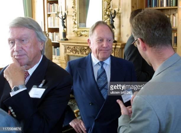 Axel Springer Preis fuer junge Journalisten 2001 Peter Bacher, Hermann Schreiber