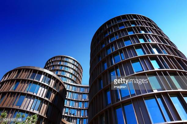 axel towers copenhagen. - tower stock pictures, royalty-free photos & images