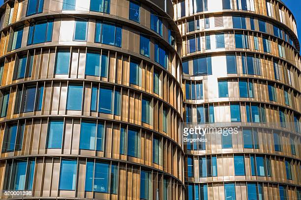 Axel Towers under construction, Copenhagen, Denmark