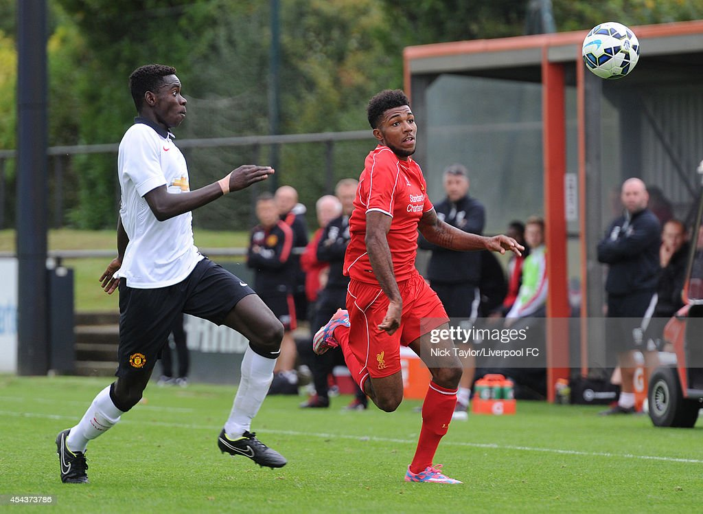 Liverpool v Manchester United: Barclays U18 Premier League : News Photo
