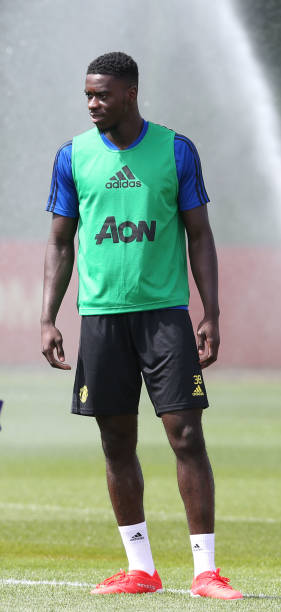 GBR: Manchester United Pre-Season Training Session
