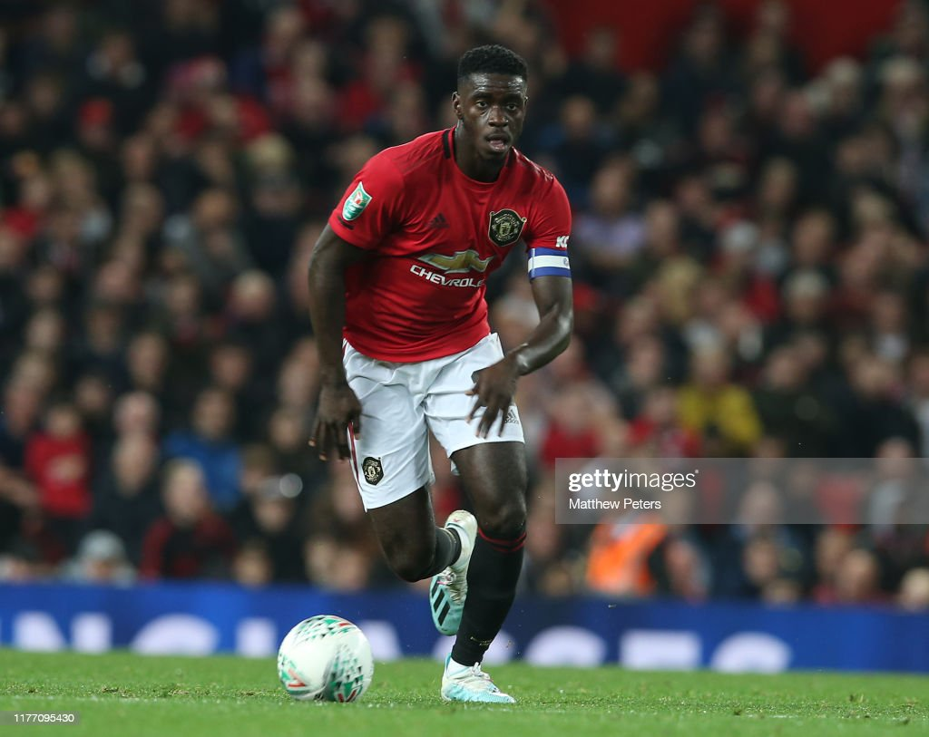 Manchester United v Rochdale AFC - Carabao Cup Third Round : News Photo