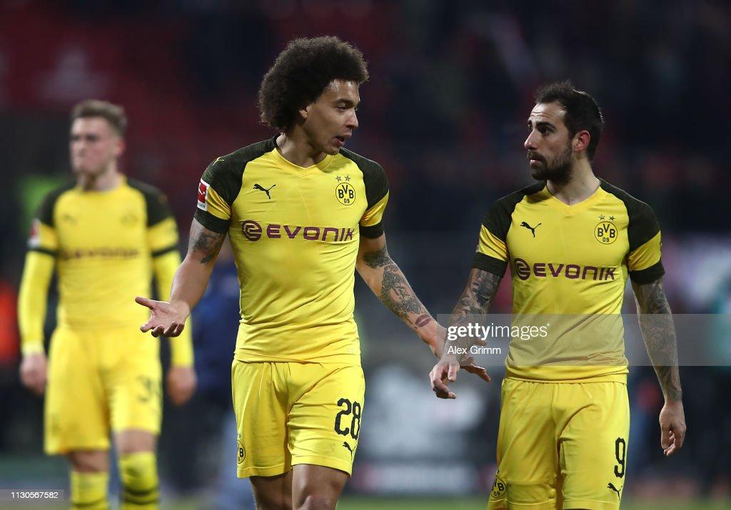 1. FC Nuernberg v Borussia Dortmund - Bundesliga : News Photo