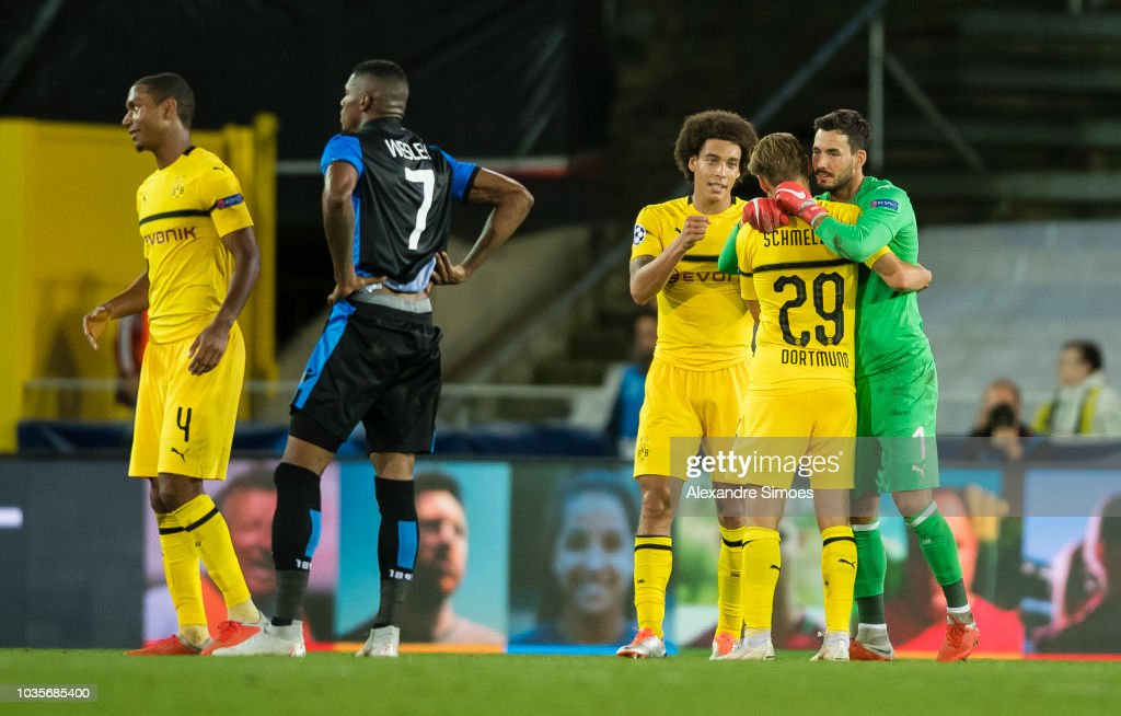 Club Brugge v Borussia Dortmund - UEFA Champions League Group A : News Photo