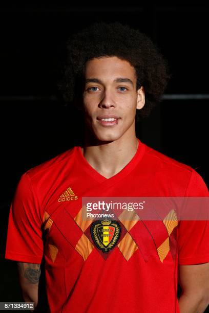 Axel Witsel midfielder of Belgium Official team picture during the photoshoot of the Red Devils at the national training center on November 07 2017...