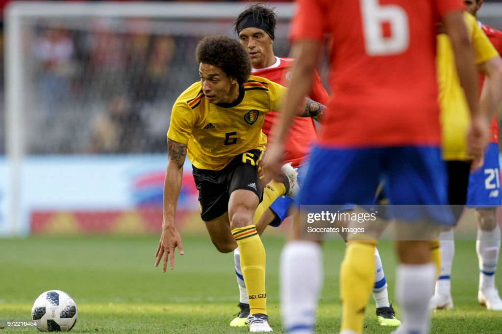 Axel Witsel of Belgium during the International Friendly match between Belgium v Costa Rica at the Koning Boudewijnstadion on June 11, 2018 in Brussel Belgium