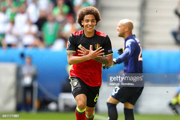 Axel Witsel of Belgium during the UEFA EURO 2016 Group E match between Belgium and Republic of Ireland at Stade Matmut Atlantique on June 18 2016 in...