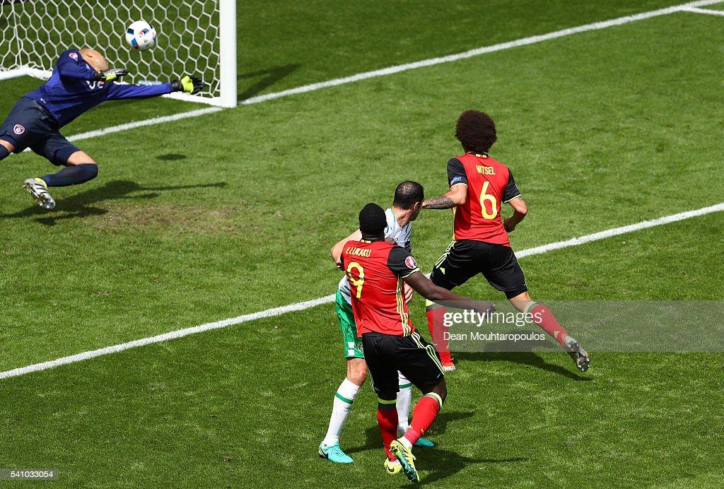 Belgium v Republic of Ireland - Group E: UEFA Euro 2016 : News Photo