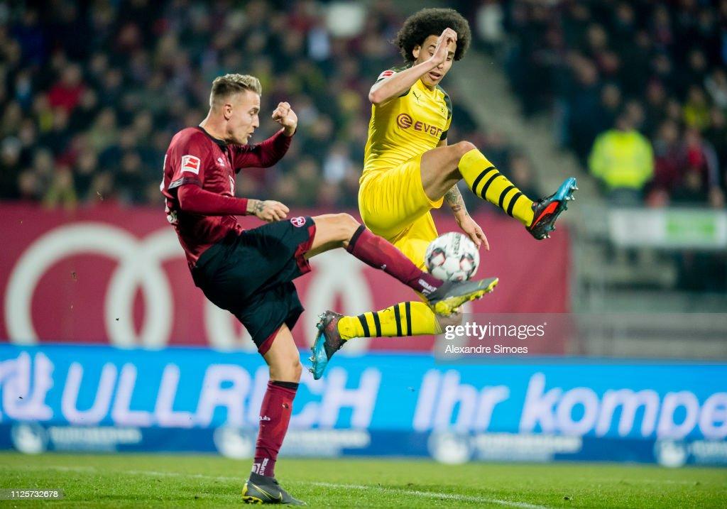 DEU: 1. FC Nuernberg v Borussia Dortmund - Bundesliga