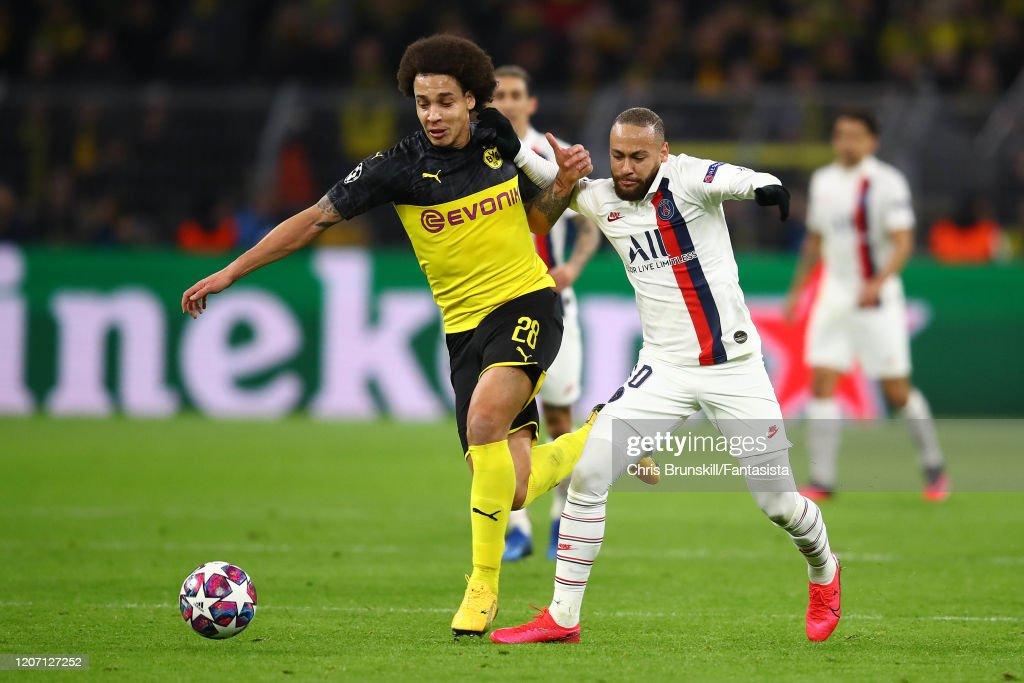 Image result for Borussia Dortmund vs psg action