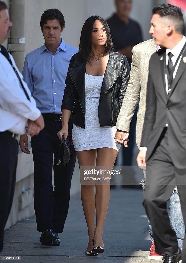 Axelle Francine is seen on June 19, 2014 in Los Angeles, California.