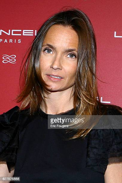 Axelle Laffont at the Lancel Red Party held at the Olympia in Paris