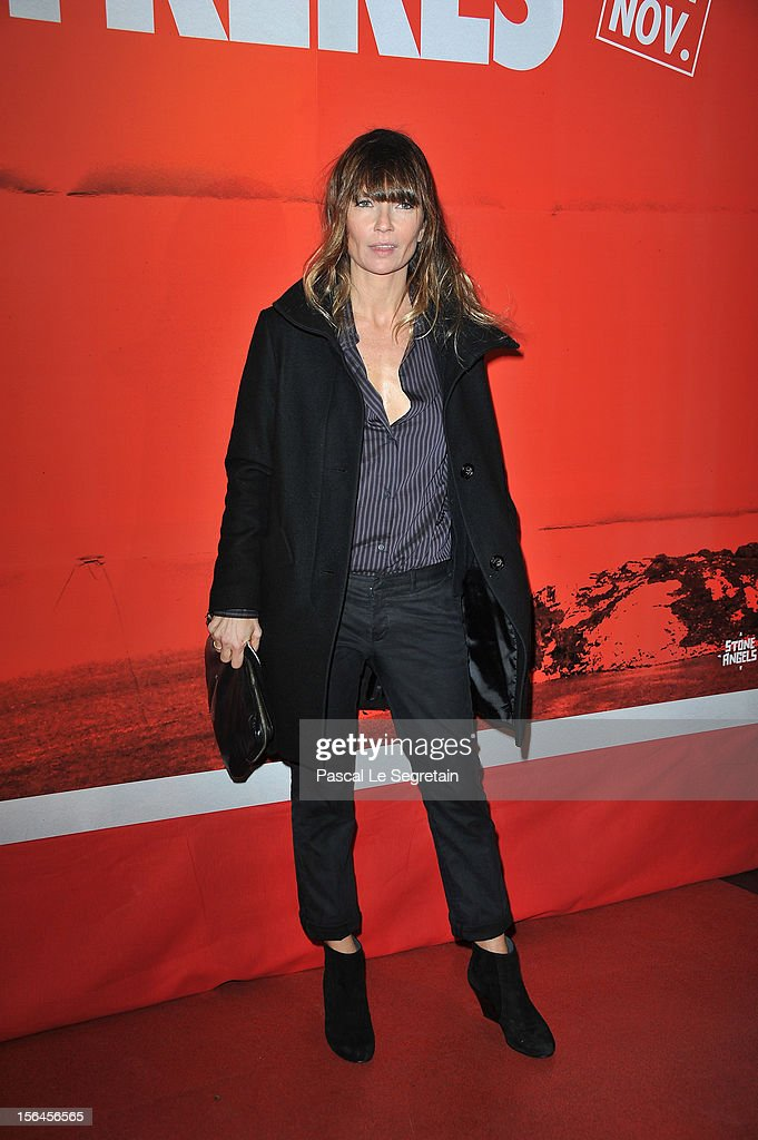Axelle Laffont attends 'Comme Des Freres' Premiere at Cinema Gaumont Opera on November 15, 2012 in Paris, France.