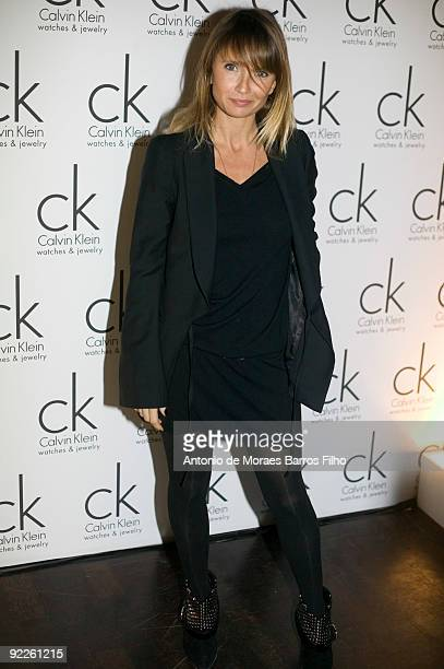 Axelle Laffont attends the Calvin Klein Party at Palace Elysee on October 22, 2009 in Paris, France.