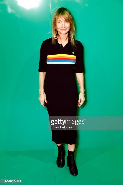 Axelle Laffont attends the Lacoste show as part of the Paris Fashion Week Womenswear Fall/Winter 2019/2020 on March 05 2019 in Paris France