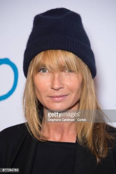 Axelle Laffont attends the 'Le Brio' Paris Premiere at Cinema Gaumont Capucine on November 21 2017 in Paris France