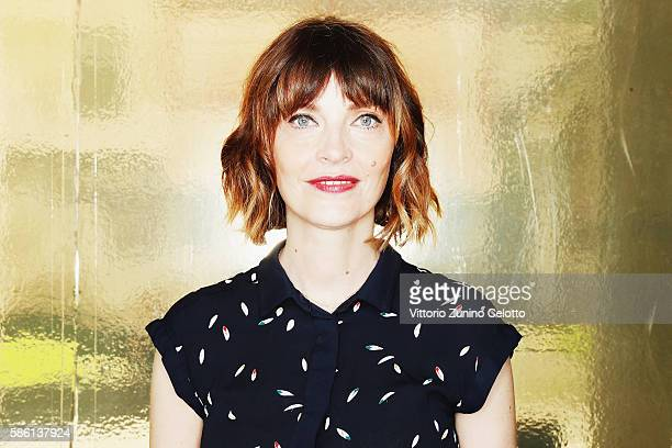 Axelle Ropert poses during the 69th Locarno Film Festival on August 5 2016 in Locarno Switzerland