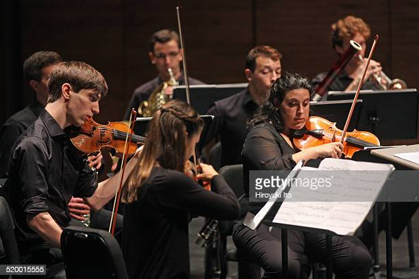 Axiom performing John Adams's Son of Chamber Symphony at Peter Jay Sharp Theater at the Juilliard School on Friday night October 17 2014