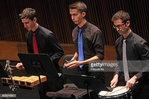 Axiom performing Messiaen's Oiseaux exotiques at Peter Jay Sharp Theater at the Juilliard School on Friday night October 17 2014