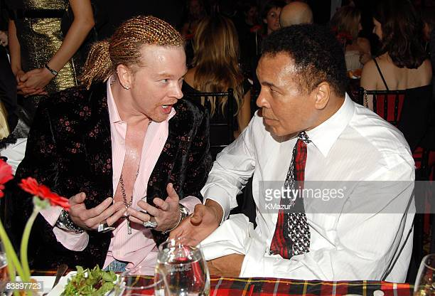 Axl Rose and Muhammad Ali **EXCLUSIVE COVERAGE**