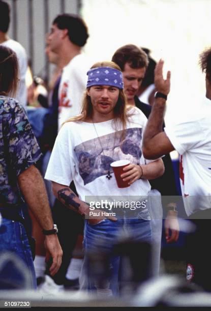 Axl Rose At MTV Awards In Universal City Ca 1992