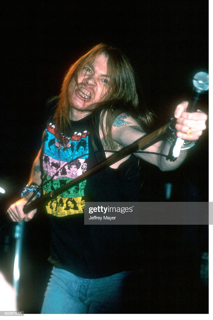 Axl Rose and Guns N' Roses in Concert - File Photos : News Photo