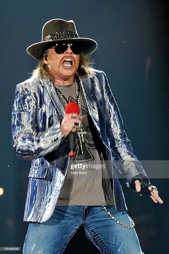 Guns N' Roses Perform in London