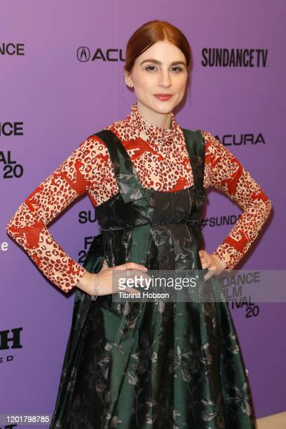 Aya Cash attends the Scare Me premiere during the 2020 Sundance Film Festival at Egyptian Theatre on January 24 2020 in Park City Utah